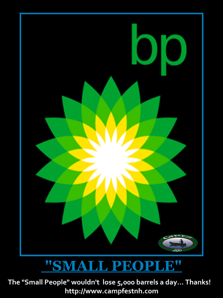 BP OIL SMALL PEOPLE