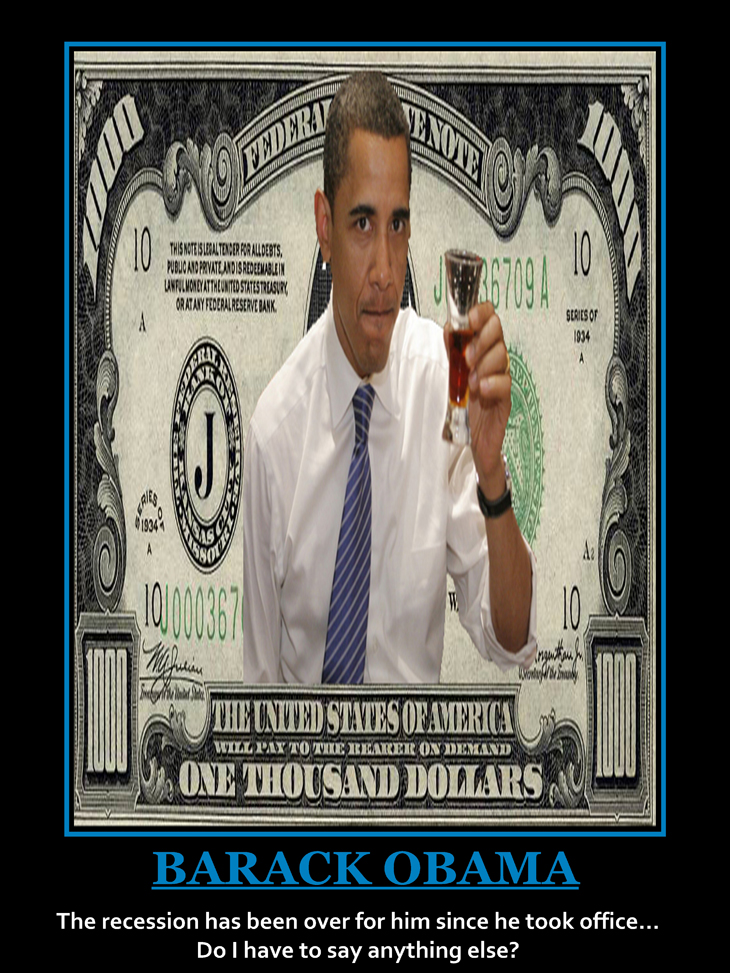 Barack Obama Beer 1000 Dollar Bill